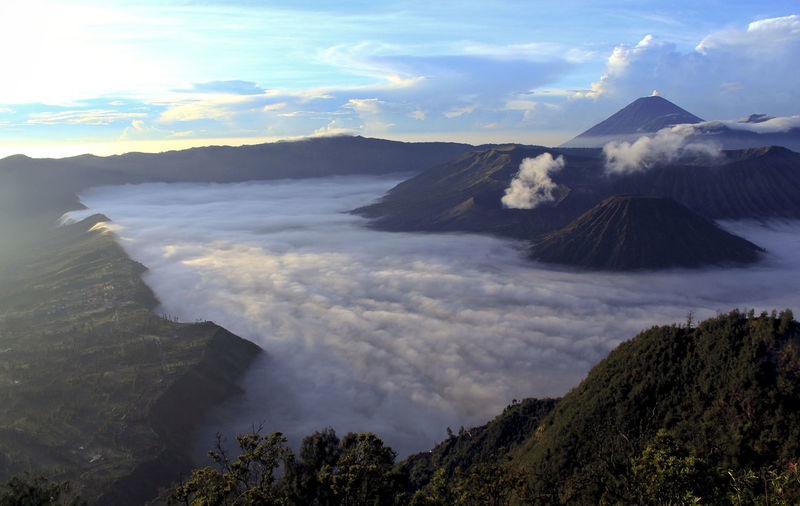 Scenic View Of Mt Bromo