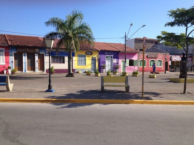 Colors and history Historycal Place Architecture Built Structure Building Exterior Building Tree Plant This Is Latin America City House No People Sunlight Street