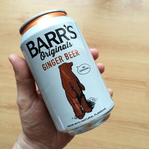Barr's Barrsoriginals Gingerbeer BeOriginal Craftbeer