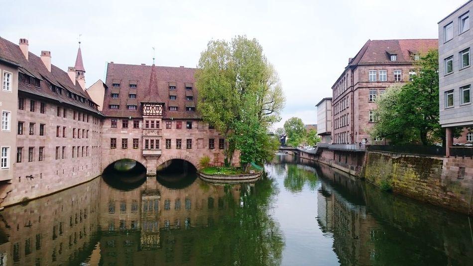 River Building Green Braun Nuernberg Nuremberg