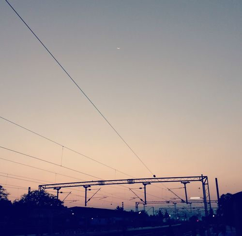 waiting for the train! Sunset Dusk Outdoors No People Sky Nature Beauty In Nature Day Long Goodbye EyeEmNewHere Welcome To Black