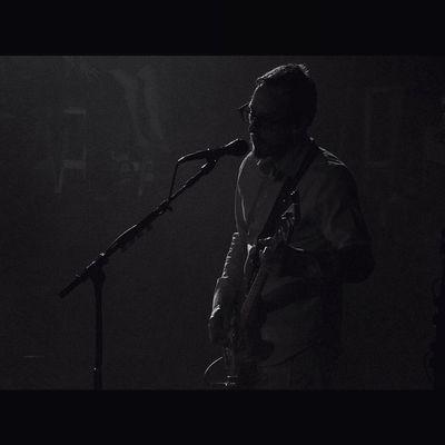 Scott Shriner from Weezer. Weezer Cruise 2014. Show A. WEEZER Weezercruise Bahamas Sony Sonyhx50 HX50 Live Music Gig Buddyholly Blackandwhite Pointandshoot Zoom Monikasmithphotography