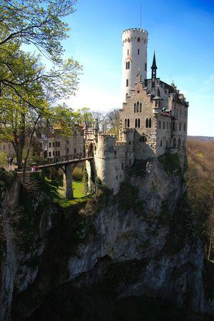Schloss Lichtenstein Lichtenstein Castle Springtime Schwäbische Alb Check This Out