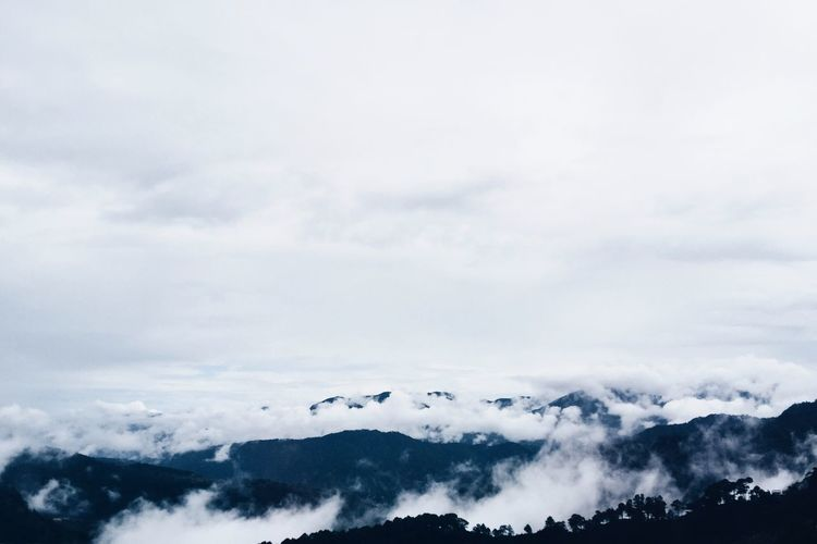 Mountain high in Sagada, Philippines Cloud - Sky Tranquil Scene Beauty In Nature Cloudscape Nature Cloud Atmospheric Mood High Up Fluffy Travel Photography Travel Eyeem Philippines