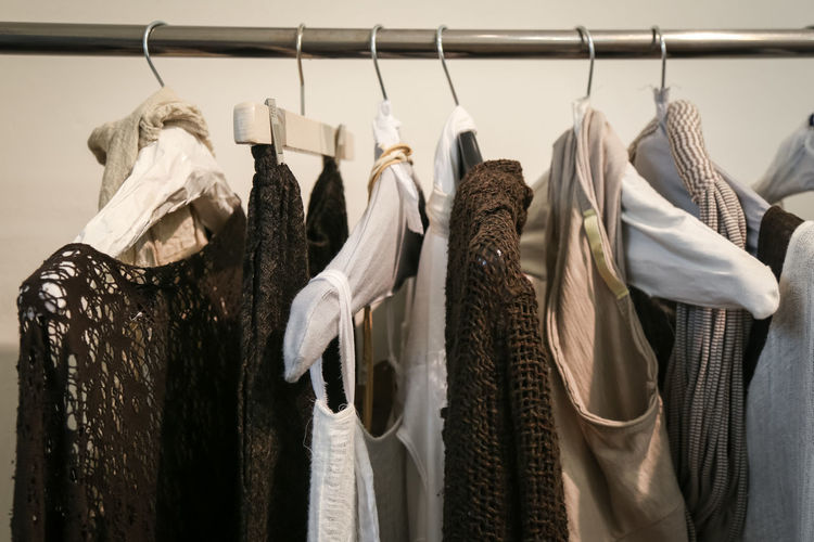 Casual Casual Clothing Choice Close-up Closet Clothing Clothing Store Fashion Hanging Indoors  Jacket No People Rack Retail  Store Textile Variation