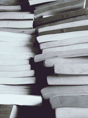 Book Monochrome Black And White