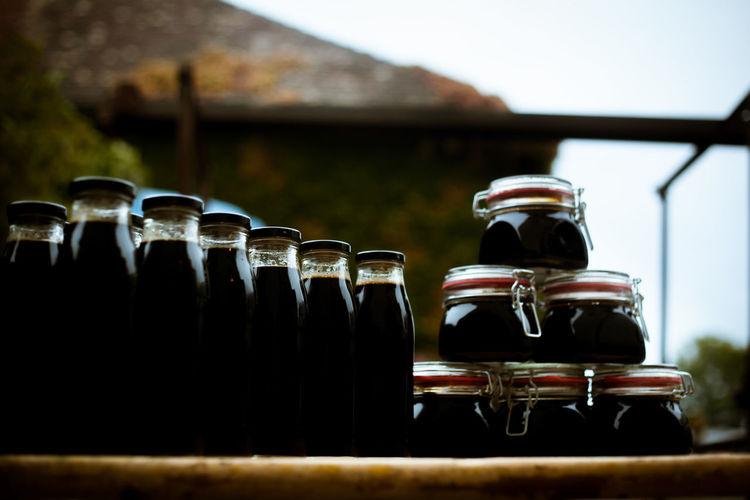 Black Bottle Confiture Food Freshness Helthyfood Jar Local Food Rythm