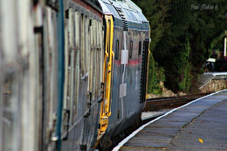 Class 50 Transportation Outdoors No People Day East Lancashire Railway Rawtenstall