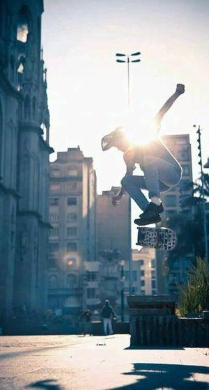 Skateboarding Streetlifestyle Urban