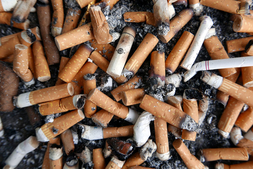 Cigarette Butts Ashtray