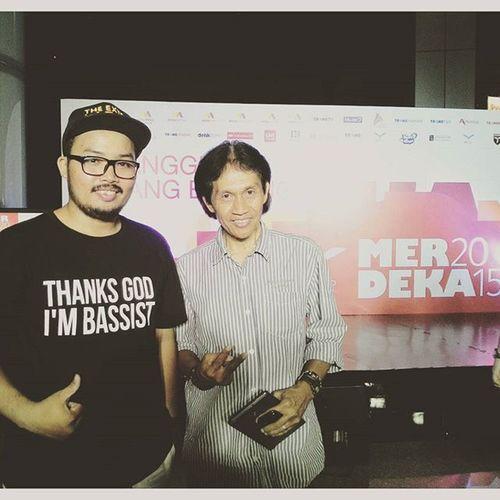 Semakin menua, semakin sederhana @bensleo Juri CTCmerdeka2015 INDONESIA Bensleo Judge Music Jakarta
