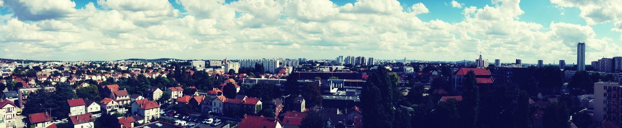 Panorama Rooftops 93 City