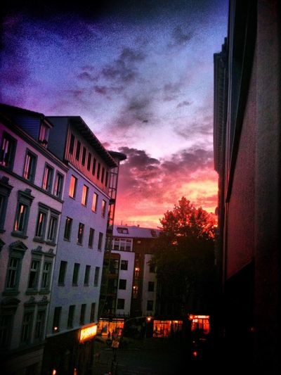Colorful Sky Sternschanze Sunset Cloud Magical Light #the Magic Mission