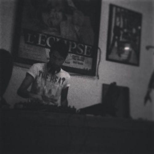 Playin' my tunes.. Music Monochrome Blackandwhite House Music