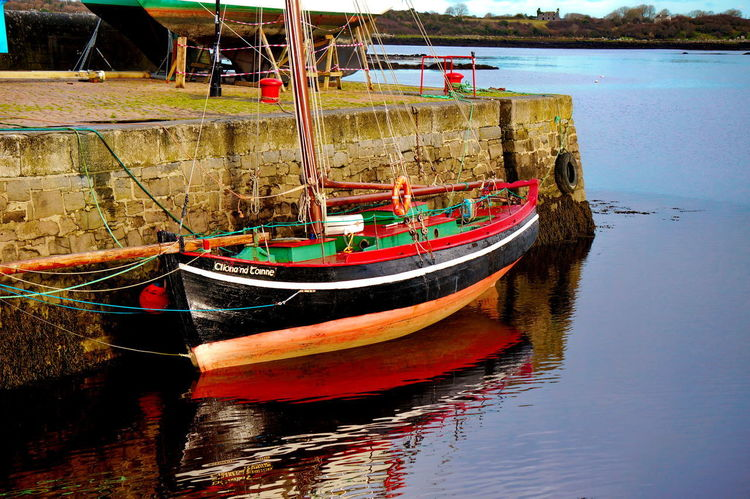 Ireland🍀 NEX-5T Boat Day Mode Of Transport Moored Nature Nautical Vessel No People Outdoors Sea Sky Sony Transportation Water Waterfront