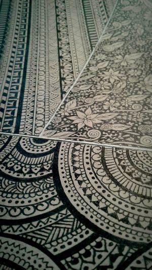 Mandala Mandala Art Black