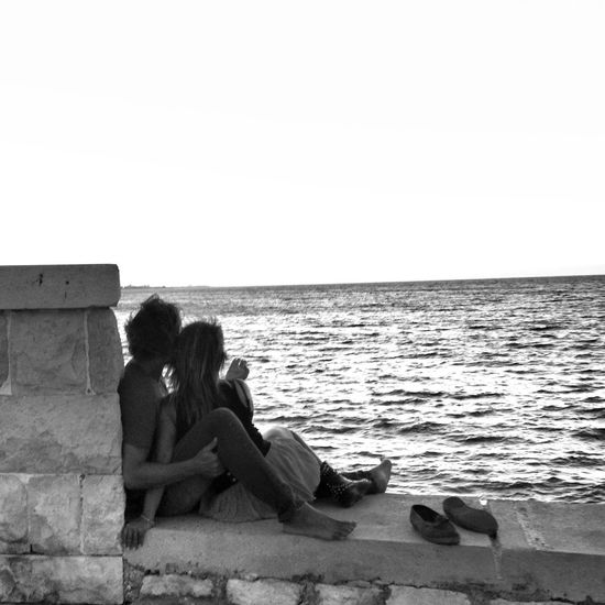 Love at Trani Streetphotography Shootermag Mypugliaexperience Blackandwhite