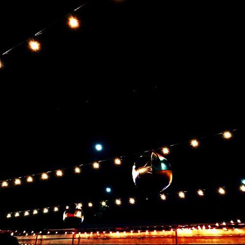Lunalampadina 💡 Night Illuminated Outdoors Celebration Sky No People Nightlife Moon City Light Lights Bulb Bulbs Milano Milan Event Location