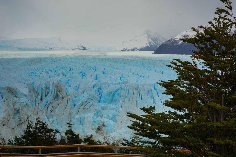 Scenic View Of Perito Moreno Glacier Against Sky