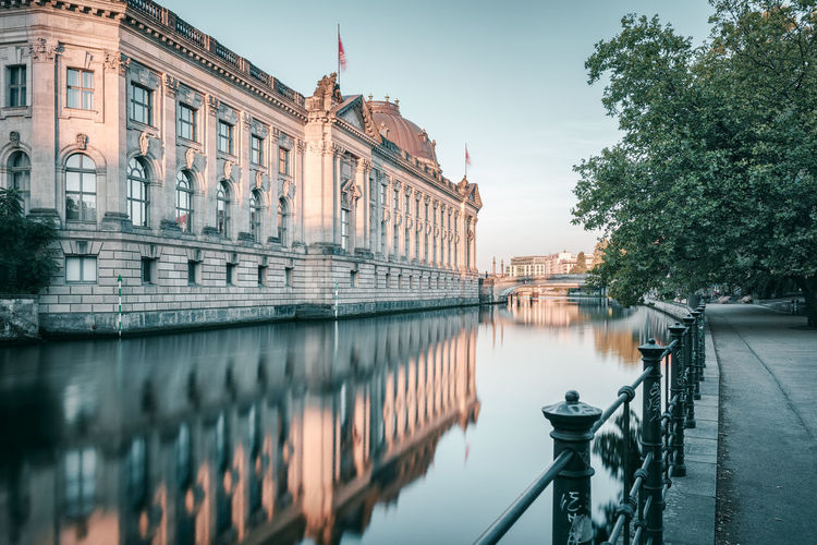 Bodemuseum | Berlin, Germany 2016 Architecture Berlin Bodemuseum Berlin Built Structure Canal City City Life Culture Day Famous Place Germany History No People Old Town Outdoors Reflection River Sky Sunrise Berlin Tourism Travel Destinations Water Waterfront Battle of the Cities