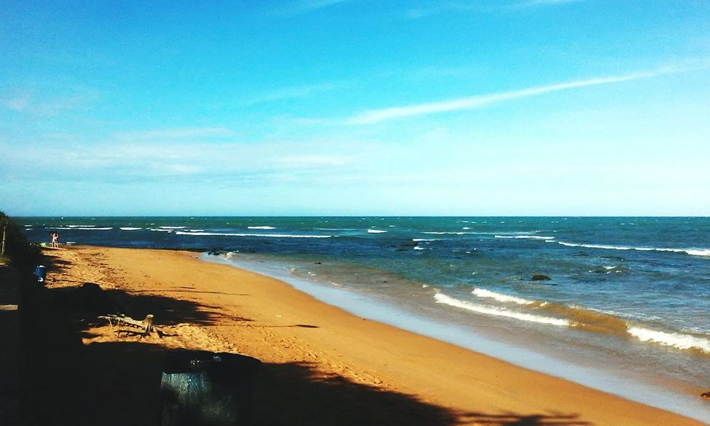 Sea Beach Horizon Over Water Sand Scenics Sky Outdoors Beauty In Nature Tranquility Nature Water Day No People Blue Freshness