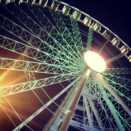 Rimini Eye Lights Ruota High Fun ferragosto night