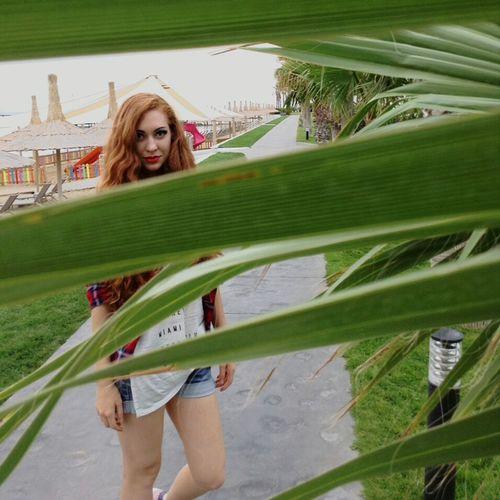 Palm Trees Redhead Turkey Antalya