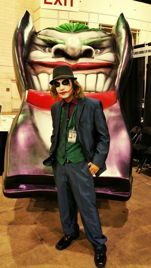 Cosplay as joker for wizardworld pa
