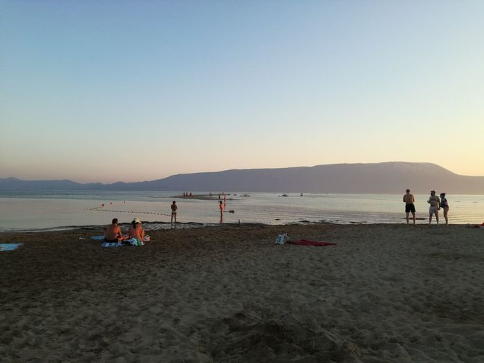 Where river meets sea! Beach Sand Sea People Sky Sunset Nature Beauty In Nature Lifestyles Vacations Croatia Croatiafulloflife Croatiawithlove Beachphotography Rivermeetssea Usce Usceneretve Neretva Neretva River Ploce WalkingOnWater Beach Time Beach Walk BeachViews Sunsets Be. Ready.