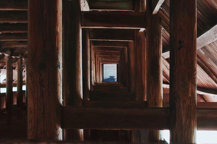 Wooden Built Structure