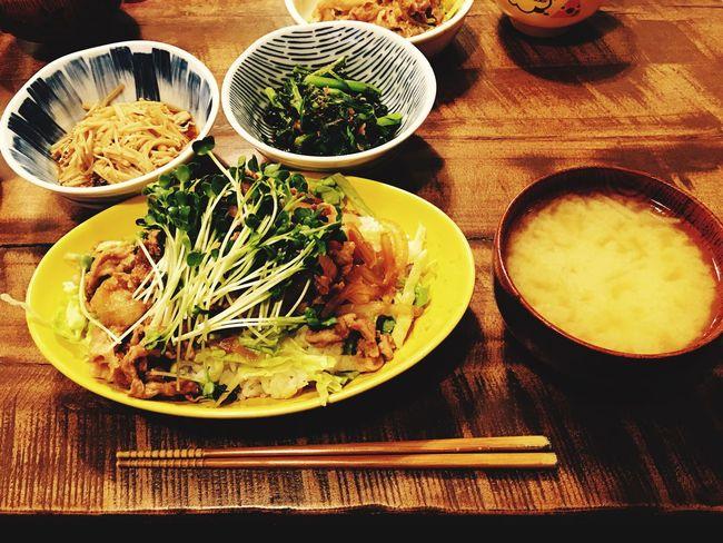Dinner 夕食 3月10日(水)