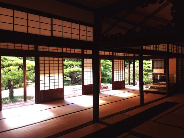 Japan Architecture Ritsurin Garden No People