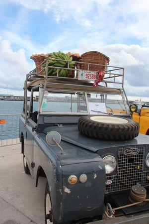 Beach Classic Car Classic Car Show Classiccars Cloud - Sky Day Land Vehicle Landrover  Mode Of Transport Nature Nautical Vessel No People Outdoors Sea Sky Stationary Transportation