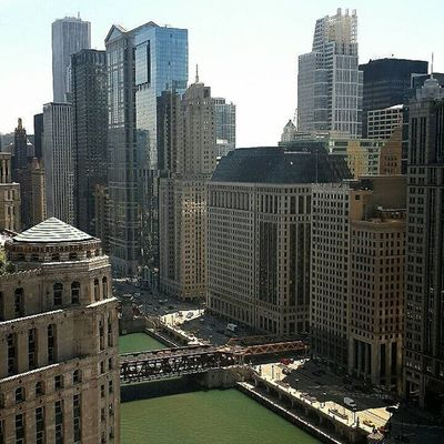 Get the best view from the hotel 😊😊 Chicago Igchicago Northwacker Travelish Nofilter Itsagoodday