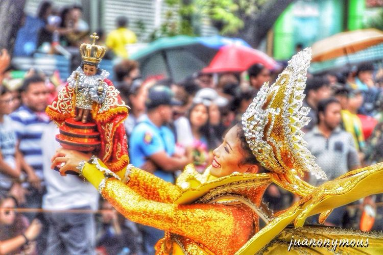 Dance of Faith Outdoors Sinulogfestival2017 Sinulog2017 Cebu,Philippine Dancer Parade Streetdancing Festival Philippines Smile Filipina Beauty Religious  Pitsenyor Joy