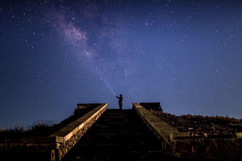 Feel The Journey Taiwan Night Galaxy
