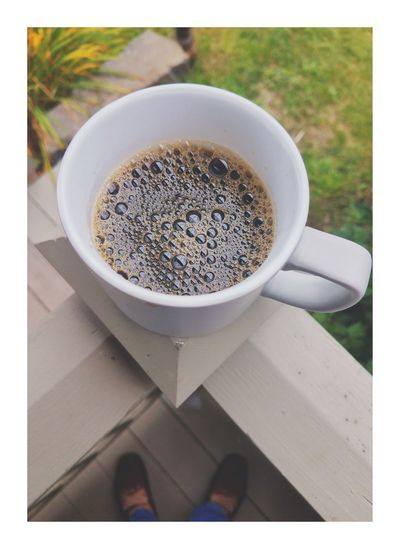Drink Coffee Cup Food And Drink High Angle View Refreshment Coffee - Drink Frothy Drink Cappuccino Close-up Freshness Eyem Market Eyem Gallery Eyem Best Edits New York