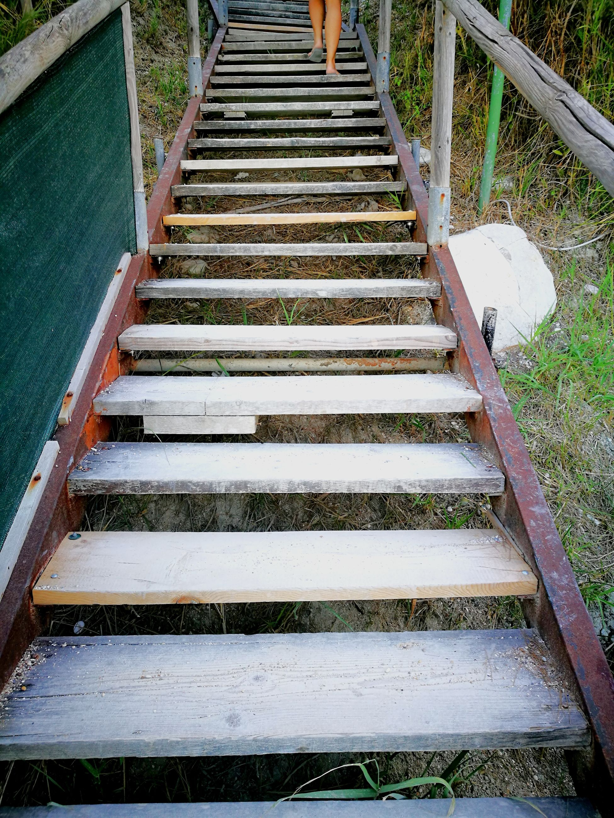 steps, steps and staircases, staircase, day, outdoors, no people, nature