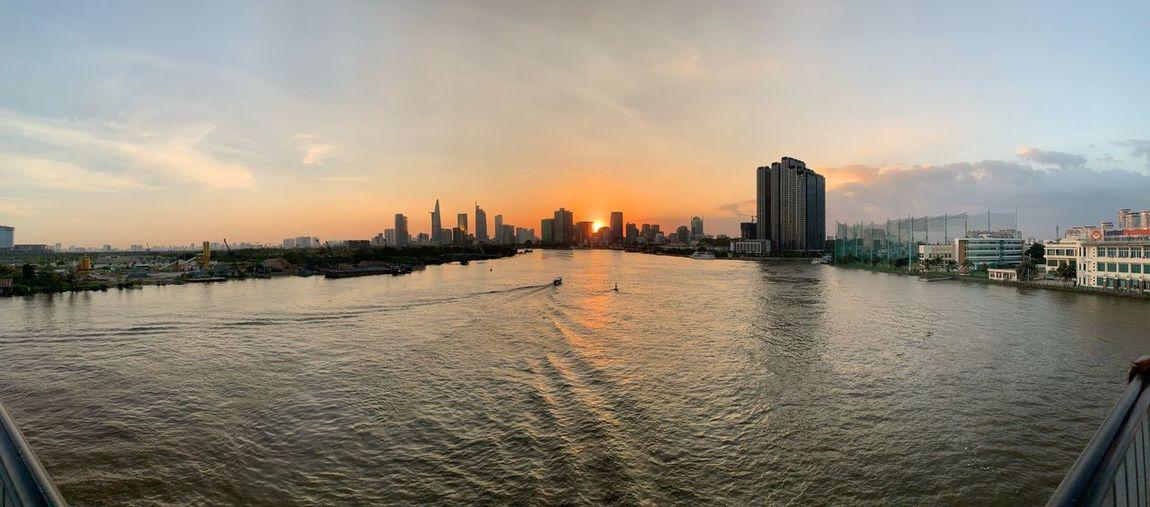 Sunset in Ho