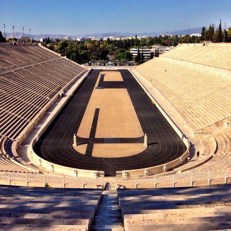 The Panathenaic Stadium in #Athens... #TBEXathens #TBEX