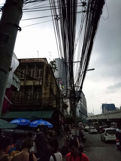 a wired city - bangkok 2017 City Building Exterior Urban Landscape City Landscape Sony Xperia Mobilephotography Downtown District AMPt - Street Street Life Street Photography Cityscape Urban Exploration Dailylife Lensculture Urbanphotography City Life Lensculturestreets Xperia Z5 Streetphotography EyeEm Thailand Snapshots Of Life Dailyphoto AMPt Community EyeEm Gallery Documentary Photography