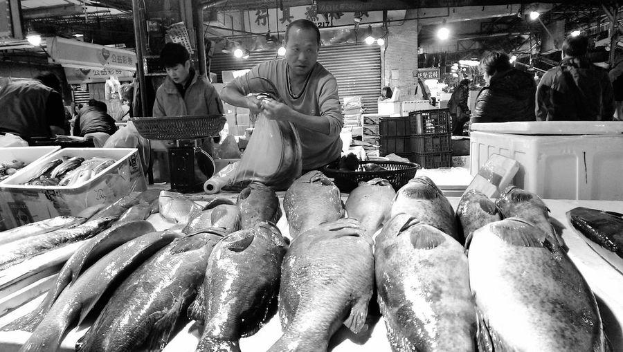 Seafood Old Market 凌晨時分的漁貨市集