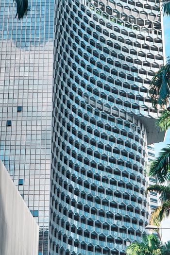Built Structure Architecture Building Exterior Modern Day City Building High Angle View Glass - Material Office Building Exterior Tall - High No People Pattern Outdoors Nature Blue Skyscraper Office Design Sunlight