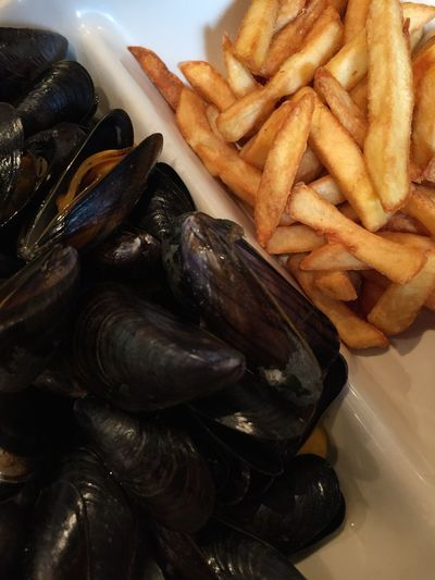 Moules Et Frites Moules Frites Food Visual Feast