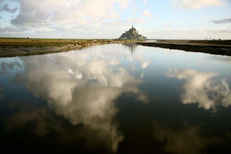 Mont Saint-Michel Reflection