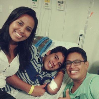 Visitinha pro irmão ♥ RobsonLuiz Ruan Irmãos Amô