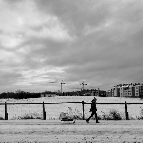 Winter Strollers - Gdynia 20 January 2016 ( IPhone 6+ ) Iphone 6 Plus IPhoneography Bnw Bnw_collection Streetphotography Streetphoto_bw Winter People City Life EyeEm Masterclass EyeEm Best Edits EyeEm Best Shots EyeEmBestPics Gdynia Poland IPS2016Winter IPS2016White