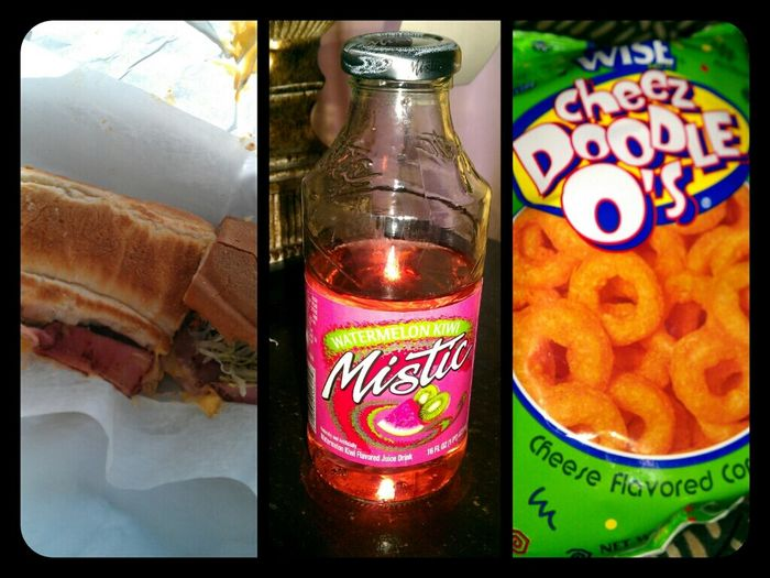 - Lunch Hit The Spot ( :