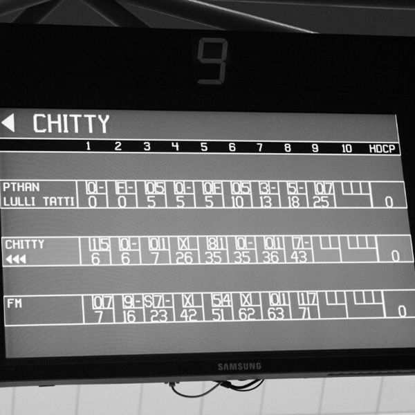 Cant forget that Bowling game with em LOL Funny Dubai Game UAE