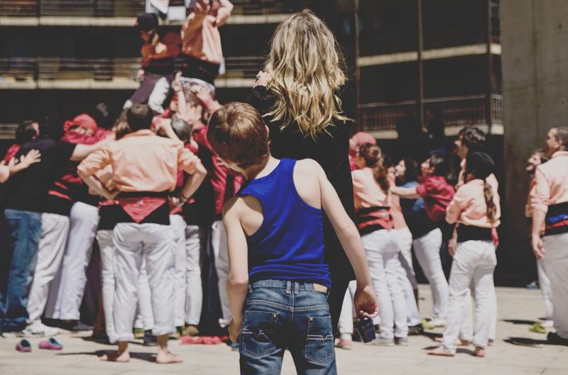 Enjoying Life Growing Better Streetphotography Snapshots Of Life Andorra Castellers